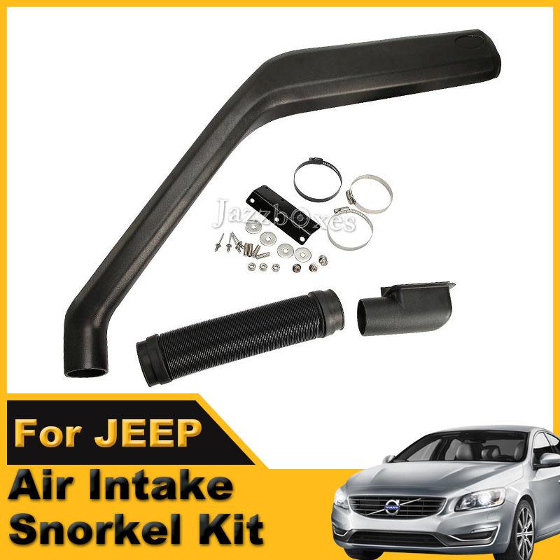 Air Intake Snorkels Snokle Kit For Jeep Cherokee 1984~1995 Head Ram Snorkel Installation Kit 4X4 4WD(China (Mainland))