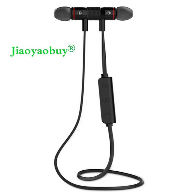 Bluetooth Headphones V4.0 Wireless Earbuds In-Ear Noise Reduction earphone with Microphone Sweatproof Stereo Bluetooth Headset(China (Mainland))