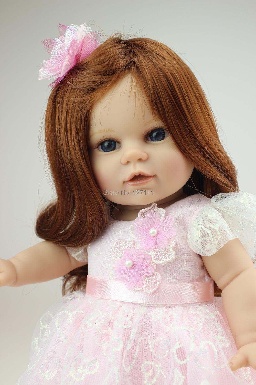 New Boneca baby alive 18 inch American girl doll  fashion dress girl birthday gift Valentine's Day dolls  brinquedos meninas