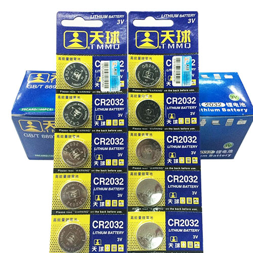 Гаджет  2015 High Quality 5Pcs CR2032 Lithium Batteries 3V Coin Cell Button for Watch Toys Remote Calculators  6MGW None Бытовая электроника