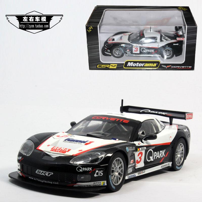 Motorama 1:24 Corvette racing Corvette C6 3# model alloy gifts<br><br>Aliexpress