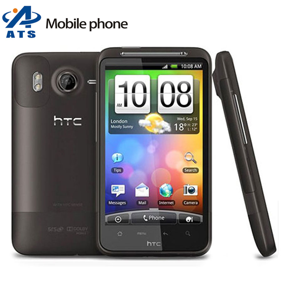 """G10 Original HTC Desire HD A9191 Mobile Phone 3G WIFI GPS 4.3 """" 8MP Android 1 Year Warranty Free Shipping(China (Mainland))"""