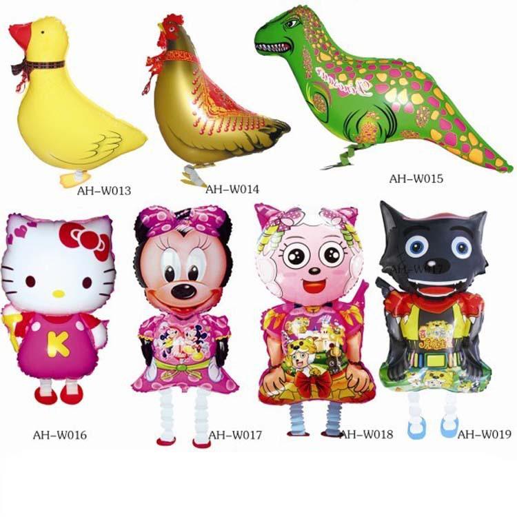 Helium Balloons,Foil Party Balloons mylar wedding Toys Walking Pets Balloon Series(China (Mainland))