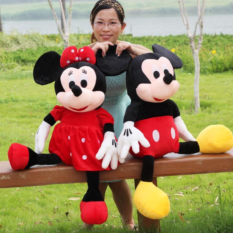 vente en gros grande peluche de minnie mouse d 39 excellente qualit de grossistes chinois grande. Black Bedroom Furniture Sets. Home Design Ideas