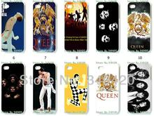 Buy Mobile Phone Cases Wholesale 10pcs/lot QUEEN BAND Protective White Hard Case Iphone 4 4S Cases for $16.00 in AliExpress store