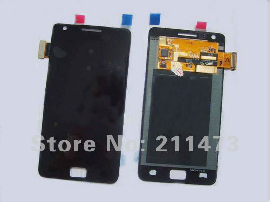 For Samsung Galaxy S2 i9100 Lcd screen with Touch digitizer assembly by free shipping;