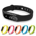 Smart Wristband Bracelet Bluetooth 4 0 SmartBands Waterproof Touch Screen Health Tracker Heart Rate Sleep Monitor