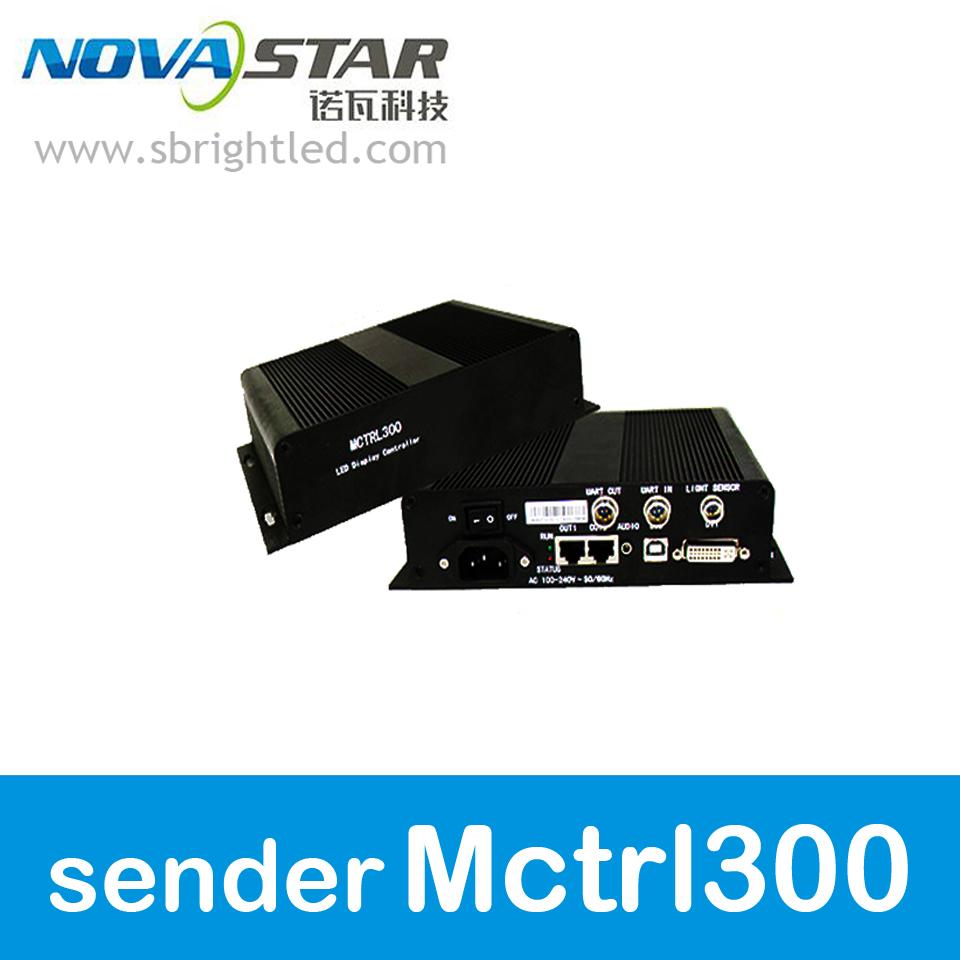 NOVASTAR MCTRL300 NOVASTAR sender MCTRL300 sending card M300 nova for LED RGB full color led display video wall screen