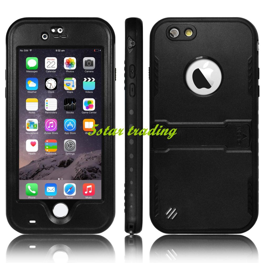 Durable Ultra Slim Luxury Premium Waterproof Shockproof Dirt Snow Proof Smat Cell Phone Case Protective Cover For iPhone 6 4.7''(China (Mainland))