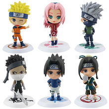 Buy Anime Naruto Toys Uzumaki Naruto Haruno Sakura Uchiha Sasuke Kakashi Action Figure Classic Children Toys for $10.86 in AliExpress store