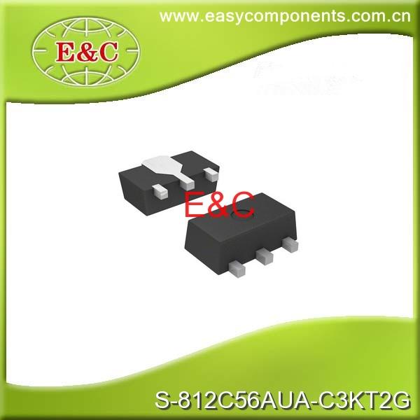 S S-812C56AUA-C3KT2G IC REG LDO 5.6V 75MA SOT89-3 - Shenzhen Easy Components Technology Co., Ltd. store