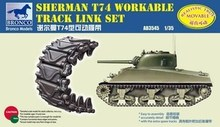 Bronco AB3545 1/35 SHERMAN T74 realizable TRACK enlace SET