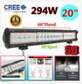 20 294W Cree Chip 5D Straight Bar type LED Work Light Bar Affroad Driving Lamp External