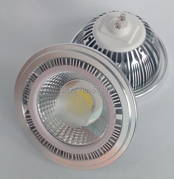 Free Shipping Super Ar111 GU10 COB 15W Dimmable LED Bulb COB LED Spot Light 85-265V(China (Mainland))