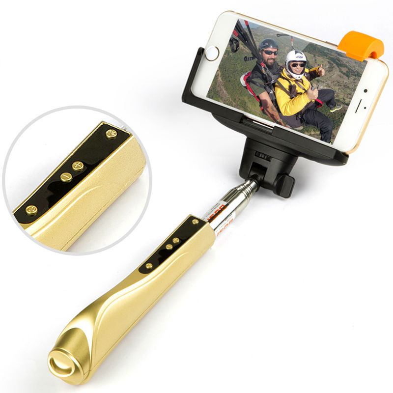 2015 tripod monopod selfie stick cable take pole pau de selfie lightweight pa. Black Bedroom Furniture Sets. Home Design Ideas