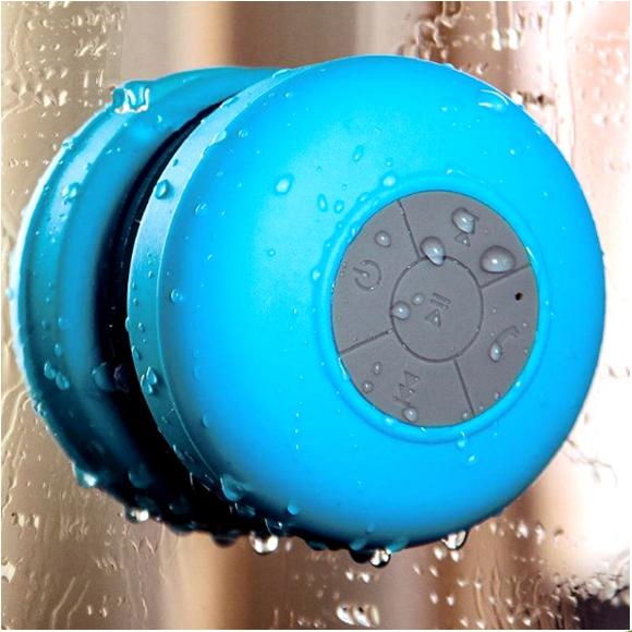 Mini Portable Waterproof Wireless Bluetooth Speaker Shower Car Handsfree Receive Call & Music Suction Phone Mic use(China (Mainland))