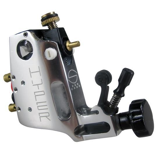 HOT New High Quality Silver Stigma Rotary Tattoo Machine High Quality White Tattoo Machine Shader And Liner For Free Shipping(China (Mainland))