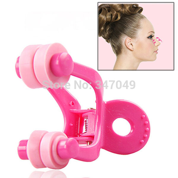Newest Nose Shaper Massager (PVC + Resin) , Nose Lift Up Clip , Nose Straightening Device No Pain Beauty Tool Free Shipping(China (Mainland))