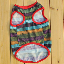 Buy Puppy Summer Clothes Pets Dogs Cat Apparel Striped Vest Coat T-shirt XS/S/M/L for $1.41 in AliExpress store