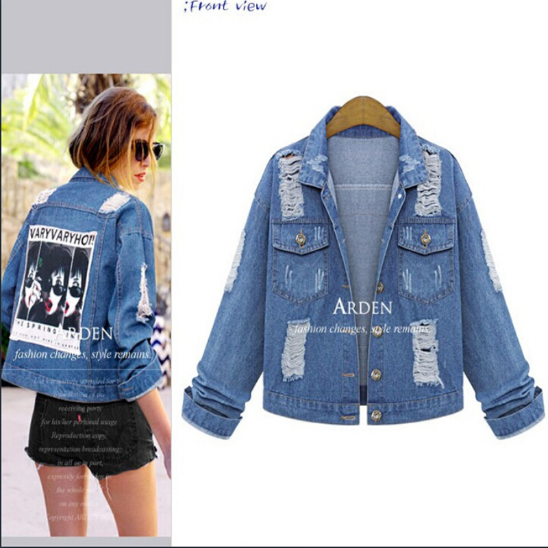 Womens Blue Jean Jackets - Fashion Ideas