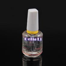 1 PC COSCELIA Bright Nail Polish Nail Treatment 12ml Nail Added Calcium Nail Art Tool Bright Oil(China (Mainland))