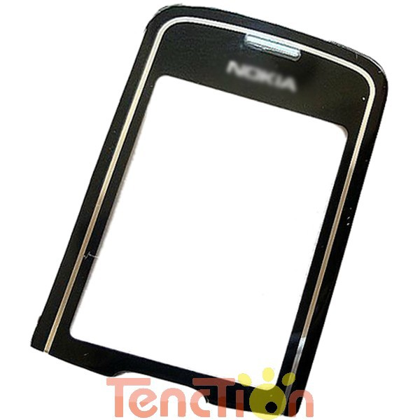 Brand New Black LCD Front Glass Display Screen Lens Panel Replacement For 8600 Luna MOQ 1Pcs Free Shipping High Quality