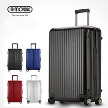 """20 """" 24 """" 26 """" 28 """" rimow un No Logo de haute qualité en aluminium + ABS + PC bagages, Rouleau Hardside valises, De haute qualité sac de voyage, Douanes verrouiller(China (Mainland))"""