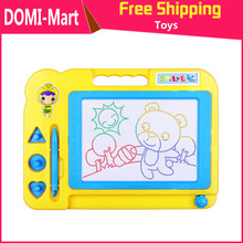 Magnetic Drawing Board Sketch Pad Doodle Writing Craft Art for Children Kids Toys(China (Mainland))