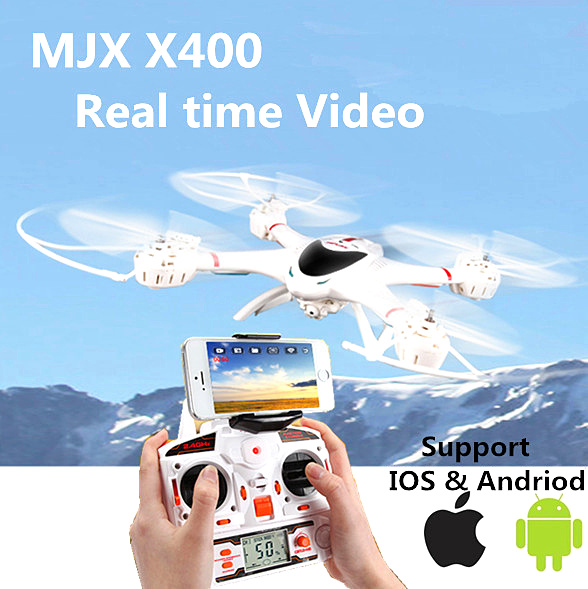 RC Helicopter Drone With Camera HD RC Quadcopter Drone RC Helicopter WiFi FPV Camera C4005 RC Simulator Dron MJX X400-V2(China (Mainland))
