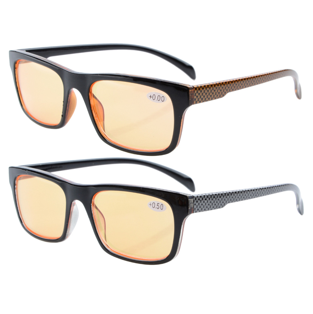 CG047 2pack Blue Rays Blocker Computer and Gaming Eye Strain Relief Glasses+0.0/0.5/0.75/1/1.25/1.5/1.75/2/2.25/2.5/2.75/3/3.5/4Одежда и ак�е��уары<br><br><br>Aliexpress