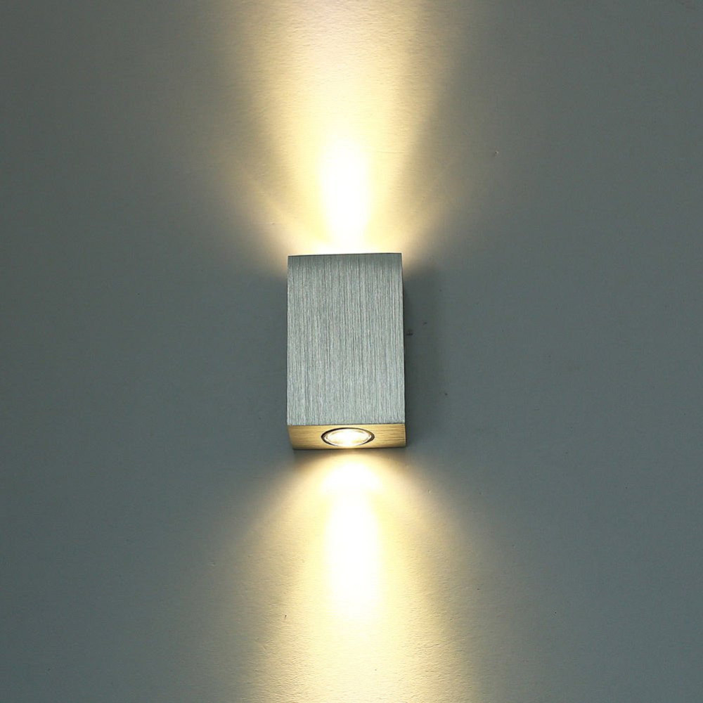 wall lamp light fixture 2w wall sconce porch spot light for bedroom