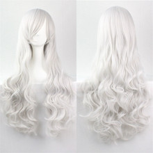 Grey/Purple/Blonde/Black Cheap Sex Products Synthetic Wig Lolita Anime Wig Cosplay Hair Wigs 80cm Long Curly Perruque Peruca(China (Mainland))