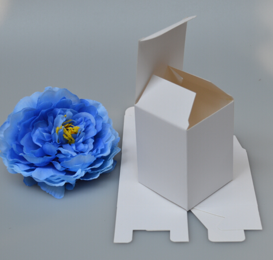 Blank white paper boxes candle packaging boxes gift packing paper boxes(China (Mainland))