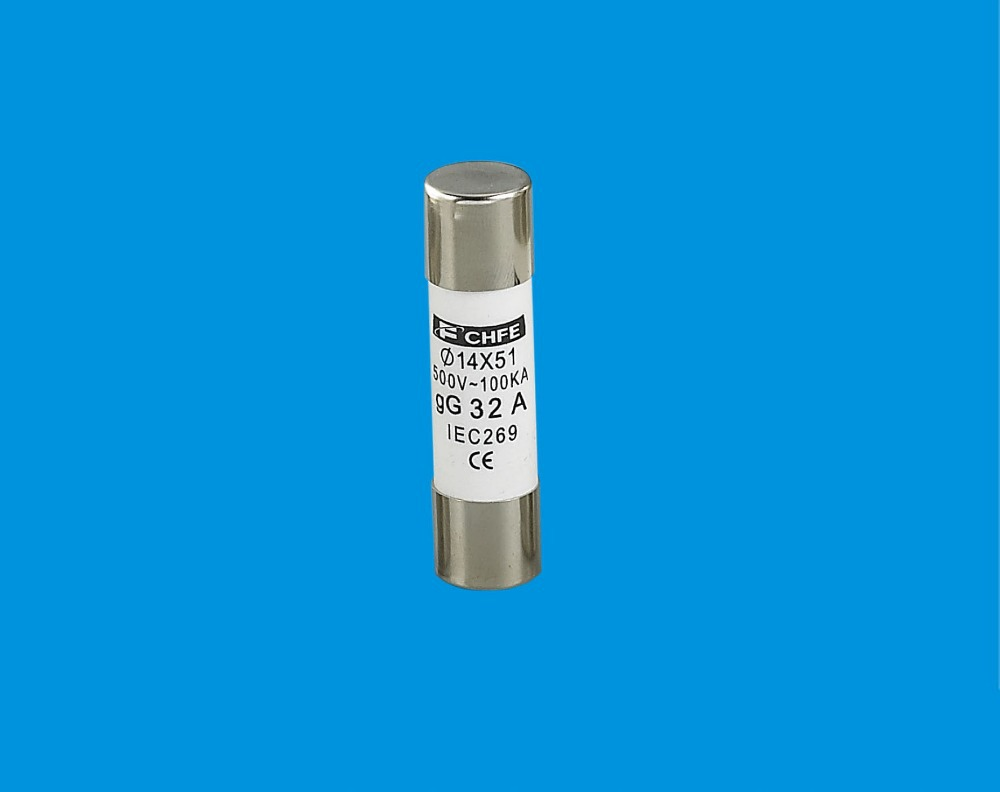 CE certificated R017 14*51mm 32A cylindrical fuse link/fuse cap type fuse link(China (Mainland))