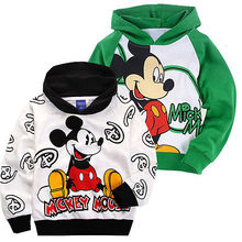 Cartoon Minnie Cute Mouse Kids Boy Girl Hoodies Spring Casual Sweatshirts Unisex Coat Jacket Jumper Clothes