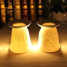new ceramic incense burner ceramic oil burners tealight candle holder(China (Mainland))