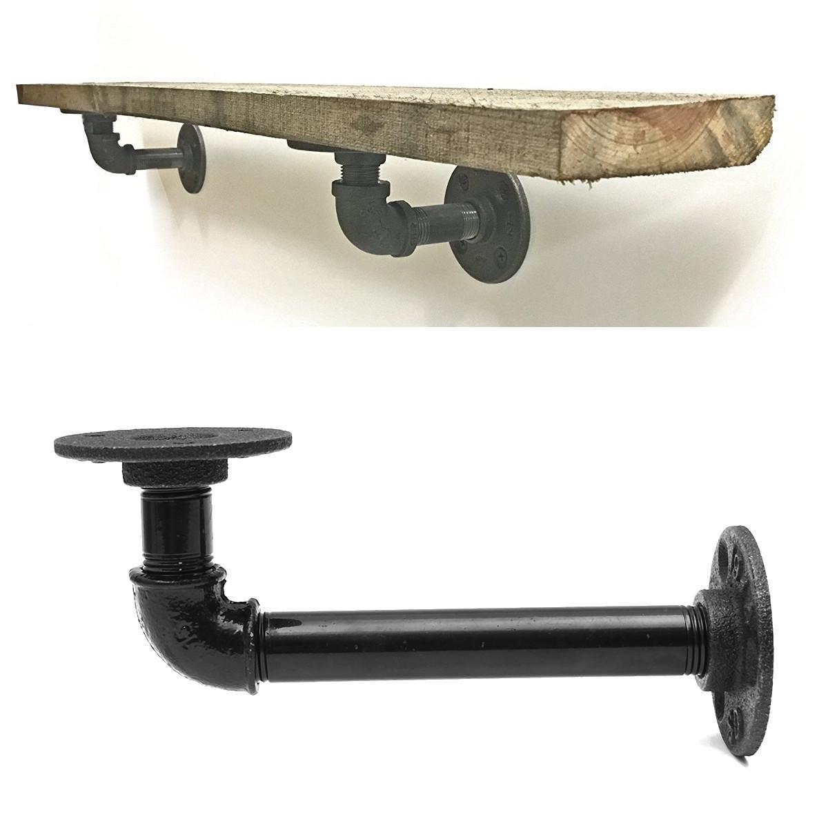 online get cheap pipe shelf bracket alibaba group. Black Bedroom Furniture Sets. Home Design Ideas