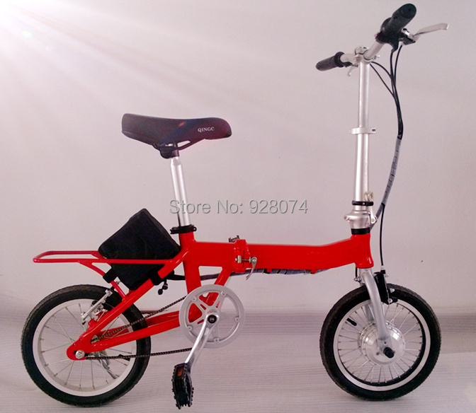 TDR14Z-L Folding electric bicycle,folding electric bike,250w motor,aluminum frame,portable,smart,lithium battery,e-scooter,cheap(China (Mainland))