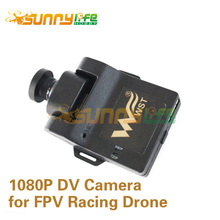 1080P HD Camera for FPV Racing Drone DV Camera Integrated with SD Card Slot