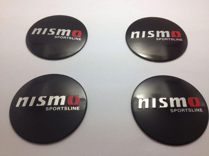 56.5mm CAR Tyre Wheel Center Hub Cap Sticker Emblem Badge Decal Fit For Nissan NISMO Car wheel center cap stickers 4pcs(China (Mainland))