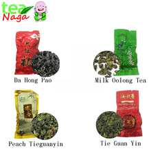 7 kinds Samples tea sweet oolong tea milk chinese tea dahongpao tikuanyin sweet Oolong tea tieguanyin