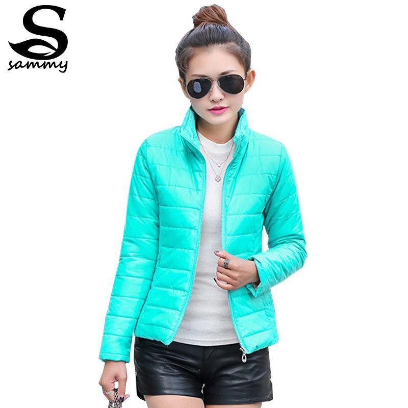 2014 NEW brand new women's sport jacket to keep warm in winter padded silk, ladies fashion casual Slim padded winter jacket 269T(China (Mainland))