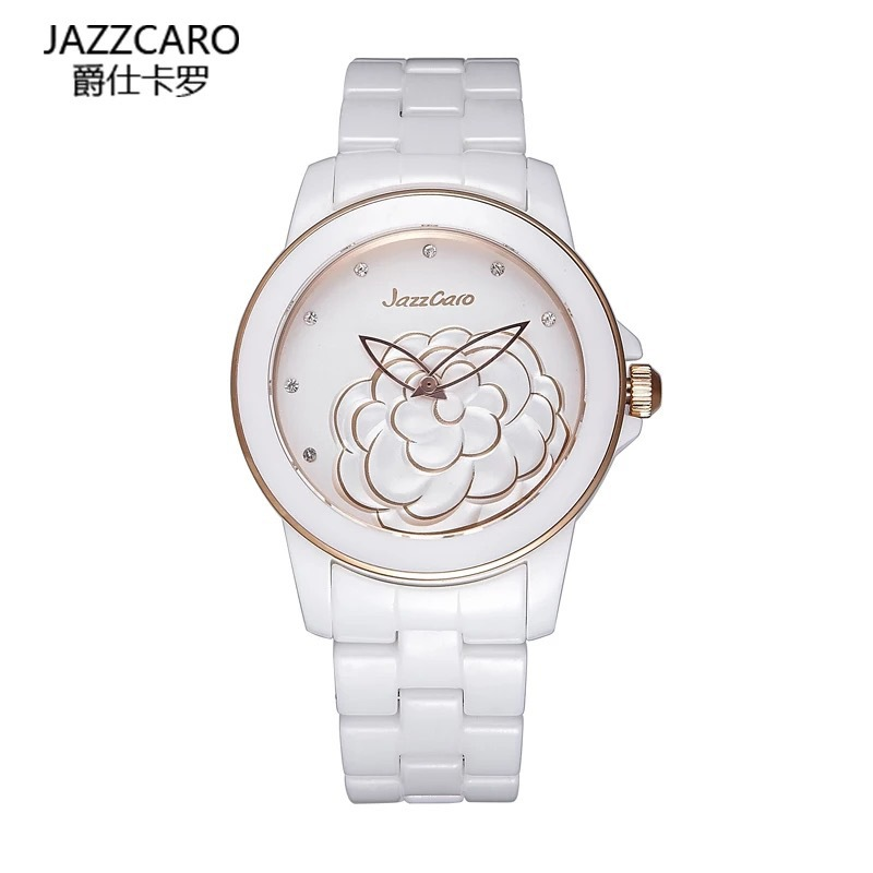 2016 Fashion & Casual Round Limited Time-limited Women Hardlex A Small Incense Camellia Table Girl Waterproof Watches(China (Mainland))