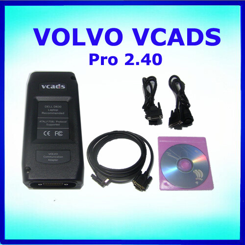 2015 Low Price& High Quality Professional Item Volvo Trucks Diagnostic Tool Volvo Vcads Pro 2.40 with multi language(China (Mainland))
