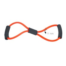 1 pcs 5 color rubber latex chest expander tension device yoga Tube body bands elastic spring exerciser Resistance Bands