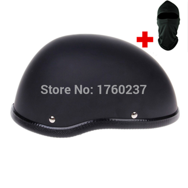 Free shipping NEW High quality FRP Motorcycle helmet half face prince helmet for summer with a face mask DOT Approved(China (Mainland))