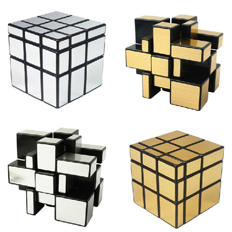 HOT sale ShengShou 3x3x3 57mm Wire Drawing Style Cast Coated Magic Cube Challenge Gifts Puzzle Mirror Cubes Educational Toys(China (Mainland))