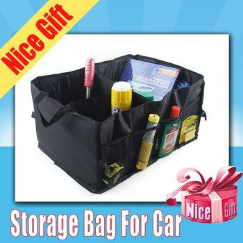 Auo Car Multi-use Organizer Portable Collapsible Tool Storage Bag Flexible Space