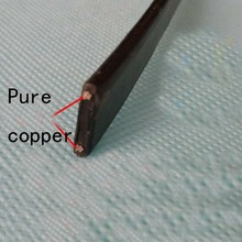 Anti-freeze Frost Protection Heating Cable For Water Pipe/Roof 230V 8MM 30W/M 65Temp Self Regulating Electric Heater Copper Wire(China (Mainland))