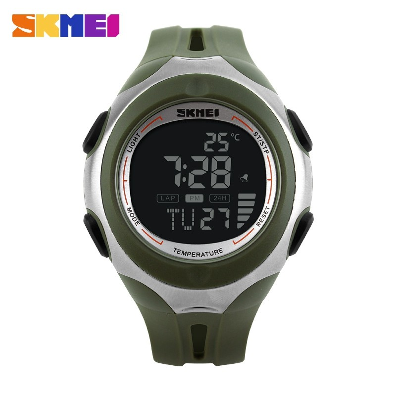 Гаджет  Fashion Skmei Brand Men Sports Multifunction Watches Fashion Digital Temperature Military Watch Swim Casual Relogios Masculinos None Часы